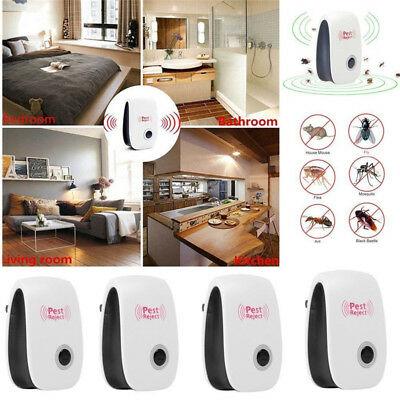 Ultrasonic Electronic Anti Mosquito Pest Bug Insect Cockroach Repeller Repellent