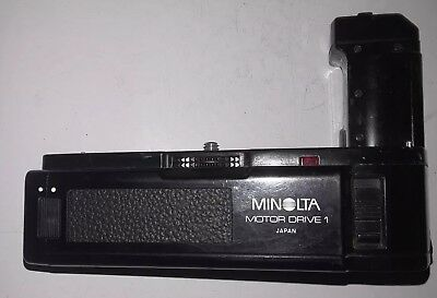 MINOLTA MOTOR DRIVE 1 for X-370 X-700 X-570 X-500 Excellent  CONDITION CLEAN
