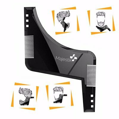 The Beard Styling Template- Stencil for Men - Lightweight and Flexible  One Size