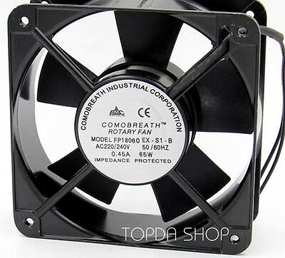 Commonwealth FP-18060 EX-S1-B Double ball cooling fan 220/240V 180*180*60MM 2pin