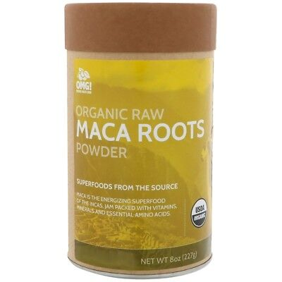 OMG! Food Company LLC Organic Raw Maca Roots Powder 8 oz (227 g)