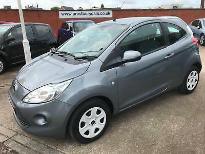 2014 Ford Ka 1.2 Edge Start/Stop.Strobe Grey,1 Owner,Only 38000 rm.£30 Tax