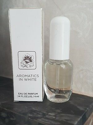CLINIQUE Aromatics In White Eau De Parfum 4ml Travel Size Boxed