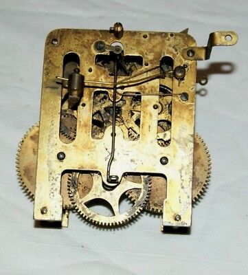Antique HAC Clock Movement, Spares/Repair