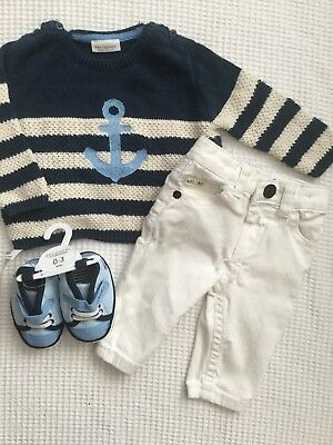 River Island, Next, Junior J, Baby Boys 0-3 Months Outfit, Bundle, Skinny Jeans