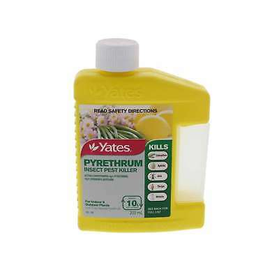Pyrethrum Concentrate Insect Pest Killer Makes 10L Yates 200ml