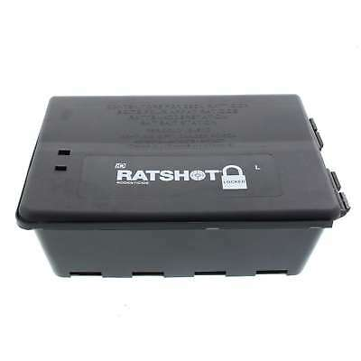 Rat Shot Large Lockable Bait Station Trap Mouse Rat 23 x 17 x 8cm