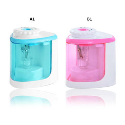 Plastic Electric Pencil Sharpener Battery Operated School Office Stationery
