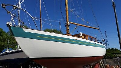 Sailing yacht, 27'9  Laurent Giles Normandy NY20, classic 1963 sailing boat