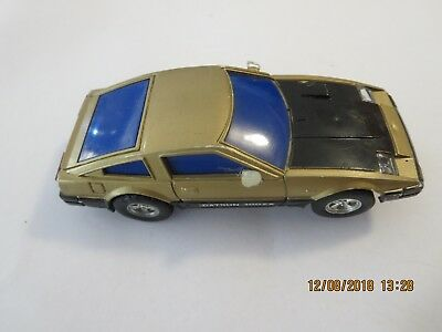 Sunny Toy Datsun 300ZX  Slot Car - Rare Vintage 1970's - Working Headlights