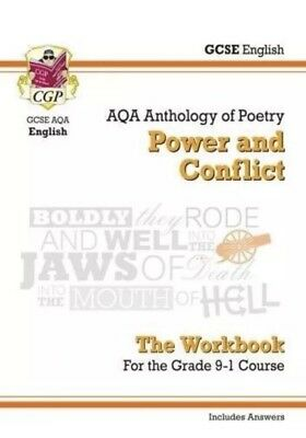 Cgp GCSE English Literature AQA Poetry Workbook: Power and Conflict Anthology