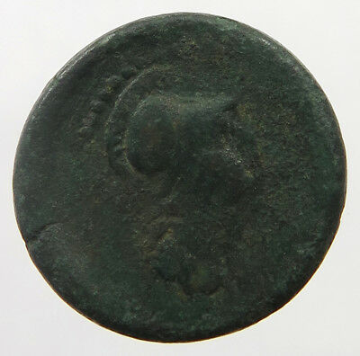 ANCIENT GREECE HELMETED ATHENA / HEAD 20MM   #ow 165