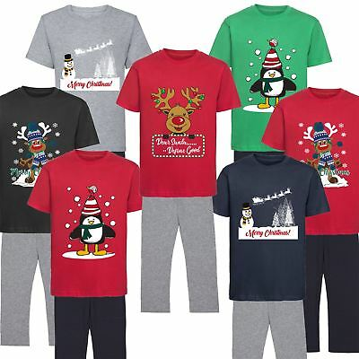 Kids Boys Girl Pyjamas PJ Set Christmas Gift Xmas Warm Festive Nightwear Novelty