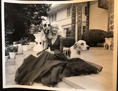 Mary Hartline And Her Great Danes Lady Giana & Sweet Pea