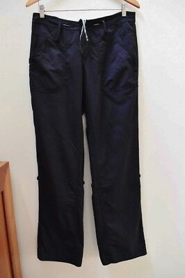 KATHMANDU size 10 Women's Black Hiking/Walking Pants Buttons Up to Shorts