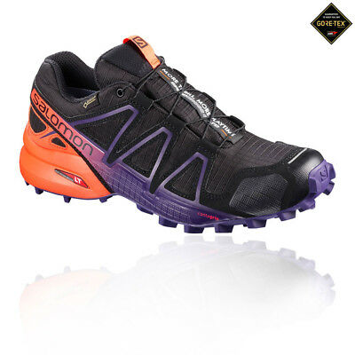 Salomon Mens Speedcross 4 GORE-TEX Trail Running Shoes Trainers Sneakers Black