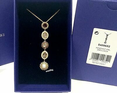 249761a68 AUTHENTIC SWAROVSKI CAPTION All-Around Crystal Necklace 5117705 ...