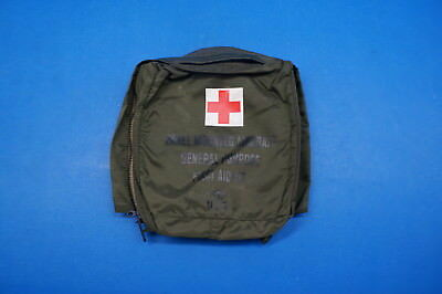 Panel Mounted Aircraft General Purpose First Aid Kit Bag