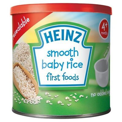 Heinz Smooth Baby Rice 140g