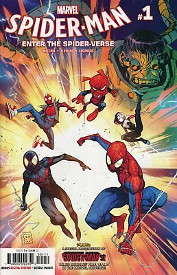 SPIDER-MAN INTO THE SPIDER-VERSE #1 - G429 - VORBESTELLUNG PreOrder 21.11.2018