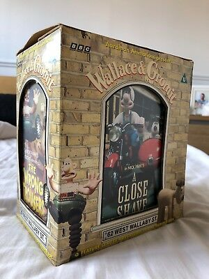 Rare Vintage Wallace and Gromit VHS Set Complete Boxed | 1998