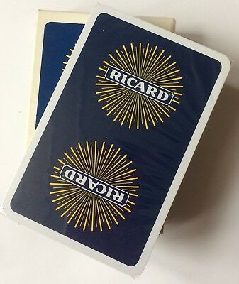 Vintage Ricard Playing Cards  Full Set. New And Sealed. Heron. Made In France