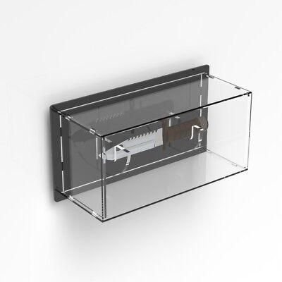 Wall Mounted Clear Acrylic Knife Stand / Display Case / Hunting Knife Surviving
