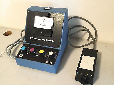 Beseler PM Color Analyzer Solid State Photo Multiplier Catalogue No. 8170