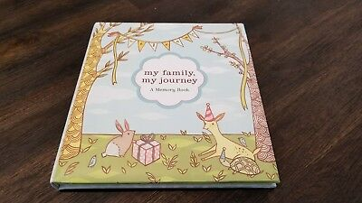 Adoption Memory Baby Book New Not In Packaging with folder for Memorabilia