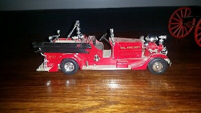 Eastwood Fire Dept. Model Fire Truck Bank