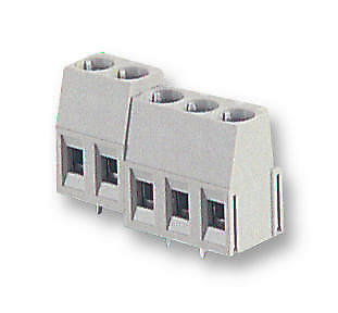 TERMINAL BLOCK PCB 3WAY Connectors Terminal Blocks - 25.161.0353.0 - Pack Of 10