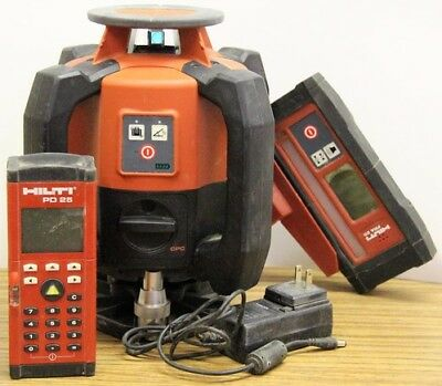 Hilti PR 2-HS Rotary Laser Level - Complete in Case