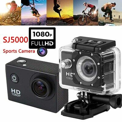 Portable Waterproof Sports Camera HD DV Car Go Action Pro Video Record Camcorder