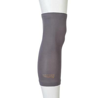 Copper Fit 2-Pack Knee Sleeves - X-Large - Iron Gray