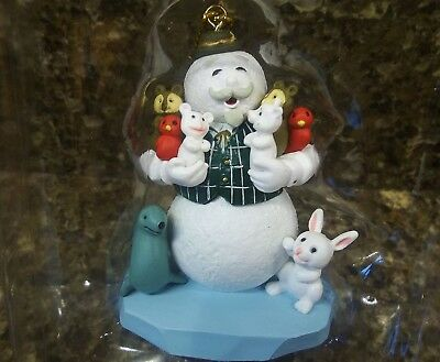 New ENESCO Rudolph Narrator SAM the SNOWMAN Christmas ORNAMENT Red Bird SQUIRREL