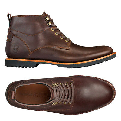 Mens Timberland Kendrick Chukka Boots Brown Leather New 143 95