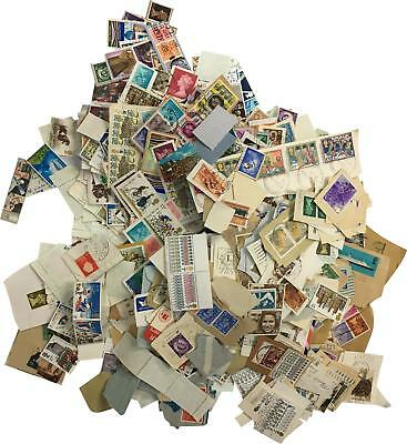 PRE-OWNED Assorted Bundle Large Collection Of Unique Vintage Stamps