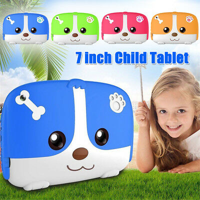 "7"" inch Kids PC Tablet Android 4.4 Dual Camera Quad Core 8GB HD WiFi Child Gift"