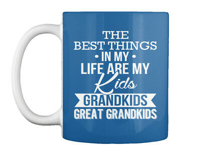 Great Grandparents Special - The Best Things In My Life Kids Gift Coffee Mug