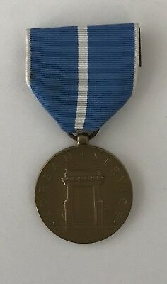 US military Korean Service medal with ribbon and pin
