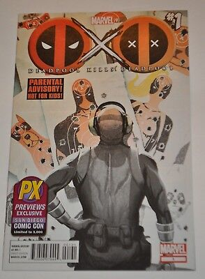 DEADPOOL KILLS DEADPOOL #1 PX Variant Previews Exclusive SDCC Limited to 5000