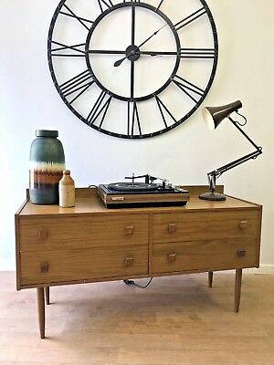 Mid Century Retro Sideboard / Chest Of Drawers, Teak