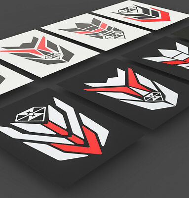 Reflective Motorcycle Bike Body Fuel Tank Pad Protector Sticker Decal For Honda