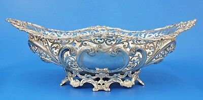 1895 Gorham Sterling Pierced Rococo Center Bowl with EX Mark