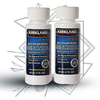 Kirkland Minoxidil 5% Extra Strength Men-Hair Regrowth 2 Month Supply