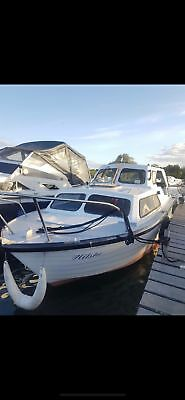 Teal Boat 23ft very rare 1970s 1 owner