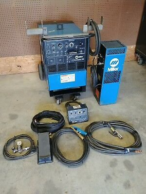 Miller Syncrowave 250 TIG Welder with Watercooler and PC-300 Pulse package