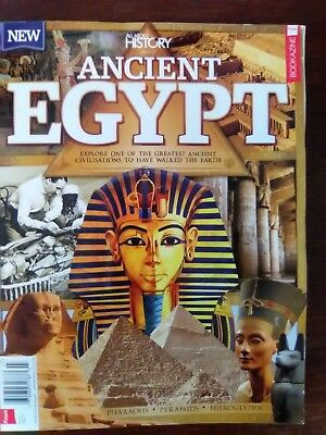 """All About History"" Book of ANCIENT EGYPT - Beautifully Illustrated"
