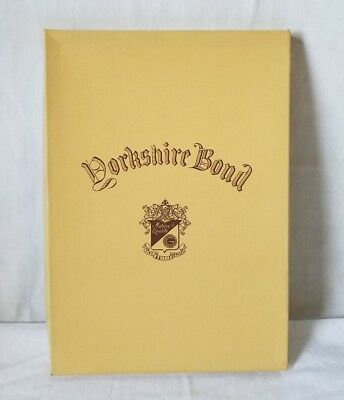 NOS Yorkshire Bond Fine Writing Papers 70 Sheets 7 1/2 x 10 1/2