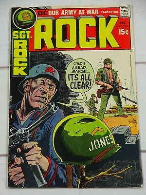 Our Army at War #226 (Sgt Rock) DC Comics Bagged and Boarded - C3415